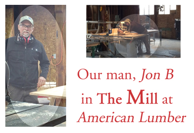 Jon B in The Mill at American Lumber