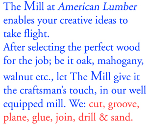 The Mill at American Lumber